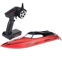 VOLANTEX - RACENT VECTOR SR65CM BRUSHLESS RACING BOAT RTR RED