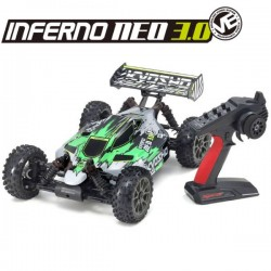 KYOSHO - INFERNO NEO 3.0VE T1 READYSET EP (KT231P+) GREEN 34108T1B