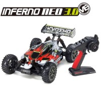 KYOSHO - INFERNO NEO 3.0VE T2 READYSET EP (KT231P+) ROUGE 34108T2B