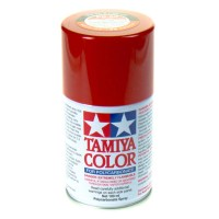 TAMIYA - PS-60 BRIGHT MICA RED COLOR FOR LEXAN 86060