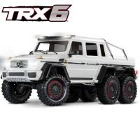 TRAXXAS - TRX-6 MERCEDES BENZ CLASSE G 63 AMG 6X6 BLANC RTR 88096-4-WHT