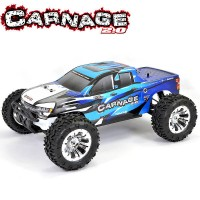 FTX - CARNAGE 2.0 1/10 BRUSHED TRUCK 4WD RTR - BLUE FTX5537B