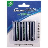GENS ACE - BATTERIES R6-AA NI-MH 2700MAH (4) 50X14MM 120G GE2-2700AA