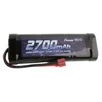 GENS ACE - BATTERIE NIMH 7.2V-2700MAH (DEANS) GE2-2700-1D