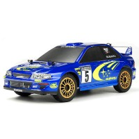 CARISMA - GT24 SUBARU WRC 4WD 1/24 MICRO RALLY RTR CA80068
