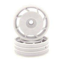 KYOSHO - JANTES AVANT 8D 50MM ULTIMA BLANCHES (2) UTH001WT