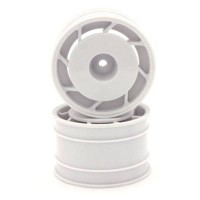 KYOSHO - JANTES ARRIERE 8D 50MM ULTIMA BLANCHES (2) UTH002WT