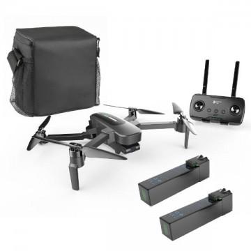 HUBSAN - ZINO PRO FOLDING DRONE W/EXTRA BATT,CAR CHG AND BAG H117P-HIGH