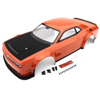 KYOSHO - CARROSSERIE DODGE CHALLENGER DEMON SRT 2018 INFERNO GT2 (PEINTE) IGB111OR
