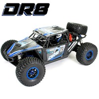 FTX - DR8 1/8 DESERT RACER 6S READY-TO-RUN - BLEU FTX5495B