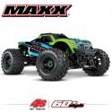 TRAXXAS - MAXX 4S 4x4 GREEN 1/10 BRUSHLESS TQI TSM - W/O AQ/CHG RTR 89076-4-GRN