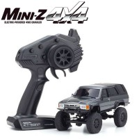 KYOSHO - MINI-Z 4X4 MX-01 TOYOTA 4RUNNER GREY METALLIC (KT531P) 32522GM