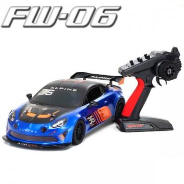 KYOSHO - FW06 ALPINE GT4 1:10 RC NITRO READYSET (KE15SP) 33212B