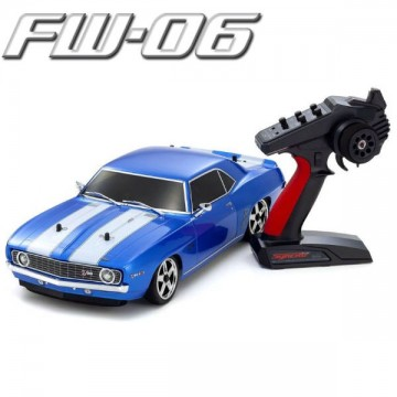 KYOSHO - FW06 CHEVY CAMARO Z28 1:10 RC NITRO READYSET W/KE15SP - BLUE 33213B