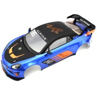 KYOSHO - BODY SHELL SET 1:10 FAZER ALPINE GT4 - ULTRA SCALE BODY SERIE FAB603