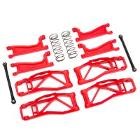 TRAXXAS - SUSPENSION KIT WIDE MAXX RED 8995R