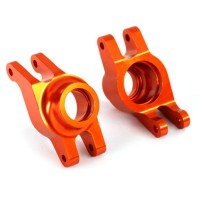TRAXXAS - CARRIERS STUB AXLE ORANGE-ANODIZED 6061-T6 ALUMINUM (REAR) (2) 8952A
