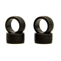 KYOSHO - Mini-Z RACING RADIAL TYRES 20 SHORE - WIDE (4) MZW38-20