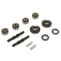 KYOSHO -  DIFFERENTIAL STEEL BEVEL GEAR SET (12T-18T FT-RR) INFERNO MP9-MP10 IFW621