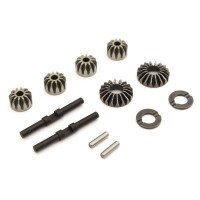 KYOSHO -  DIFFERENTIAL STEEL BEVEL GEAR SET (12T-18T CTR) INFERNO MP9-MP10 IFW622