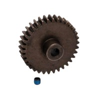 TRAXXAS - STEEL MOD 1.0 PINION GEAR W/5MM BORE 34T 6493