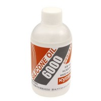 KYOSHO - HUILE SILICONE DIFF 6000 (40cc) SIL6000B