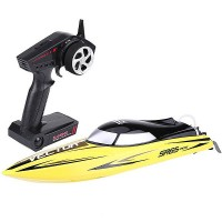 VOLANTEX - RACENT VECTOR SR65CM BRUSHLESS RACE BOAT RTR YELLOW V792-5Y