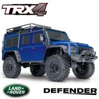 TRAXXAS - TRX-4 LAND ROVER DEFENDER BLEU RTR 82056-4-BLUE