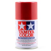 TAMIYA - PS-15 METALLIC RED COLOR FOR LEXAN 86015