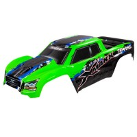 TRAXXAS - BODY X-MAXX GREEN (PAINTED, DECALS APPLIED) 7811G