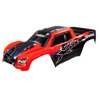 TRAXXAS - BODY X-MAXX RED (PAINTED, DECALS APPLIED) 7811R