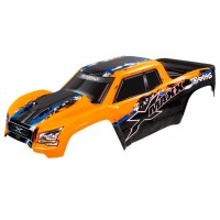 TRAXXAS - BODY X-MAXX ORANGE (PAINTED, DECALS APPLIED) 7811