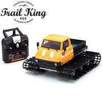 KYOSHO - TRAIL KING 1:12 READYSET EP BELT VEHICLE (KT431S) - T1 YELLOW 34903T1B