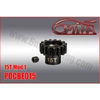 6MIK - PINION GEAR M1 15D 1/8 OPTIMA POCBE015