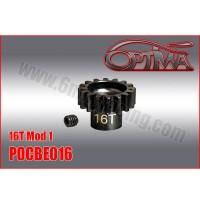 6MIK - PINION GEAR M1 16D 1/8 OPTIMA POCBE016