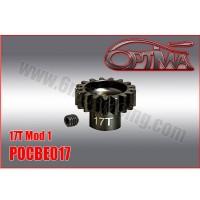 6MIK - PINION GEAR M1 17D 1/8 OPTIMA POCBE017