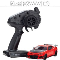 KYOSHO - MINI-Z RWD CHEVROLET CAMARO ZL1 1LE RED HOT (W-MM/KT531P) - LED 32339R
