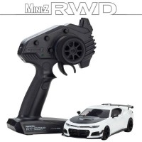 KYOSHO - MINI-Z RWD CHEVROLET CAMARO ZL1 1LE SUMMIT WHITE (W-MM/KT531P) - LED 32339W