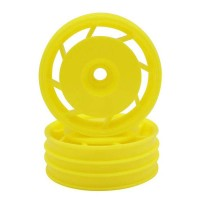 KYOSHO - 8D FRONT WHEEL 50MM YELLOW (2) ULTIMA UTH001Y
