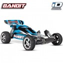 TRAXXAS - BANDIT - 4x2 - BLUE - 1/10 BRUSHED TQ 2.4GHZ - iD W/O BATTERY & CHARGER 24054-4-BLUE