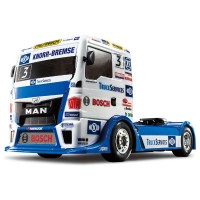 TAMIYA - CAMION MAN TGS TEAM HAHN RACING KIT TT-01E 58632