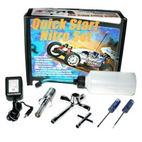 FASTRAX - QUICK START NITRO STARTER SET - EURO PIN FAST691E