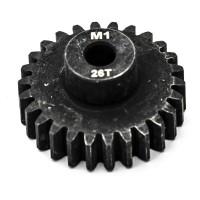 KONECT - PIGNON MOTEUR M1 Ø5MM 26 DENTS EN ACIER KN-180126
