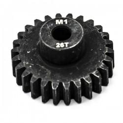 KONECT - 26T PINION GEAR ALLOY STEEL M1 Ø5MM KN-180126