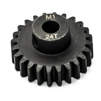 KONECT - 24T PINION GEAR ALLOY STEEL M1 Ø5MM KN-180124