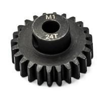 KONECT - PIGNON MOTEUR M1 Ø5MM 24 DENTS EN ACIER KN-180124