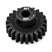 KONECT - PIGNON MOTEUR M1 Ø5MM 23 DENTS EN ACIER KN-180123