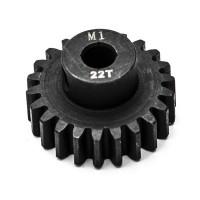 KONECT - PIGNON MOTEUR M1 Ø5MM 22 DENTS EN ACIER KN-180122