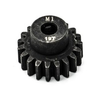 KONECT - PIGNON MOTEUR M1 Ø5MM 19 DENTS EN ACIER KN-180119