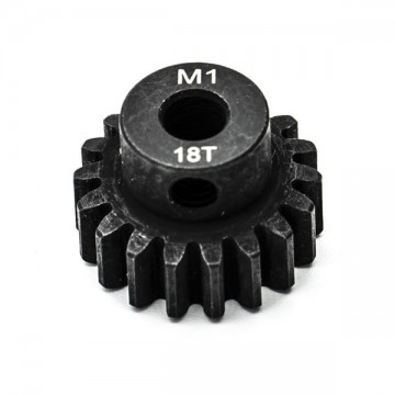 KONECT - 18T PINION GEAR ALLOY STEEL M1 Ø5MM KN-180118